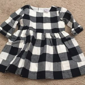 Carters 9m plaid dress